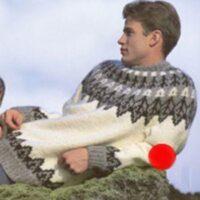Istex strikkeopskrift 18-41 Herre sweater - Nordisk Garn